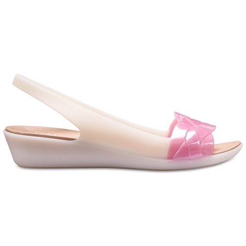 crocs Peach Isabella Slingback Sandals