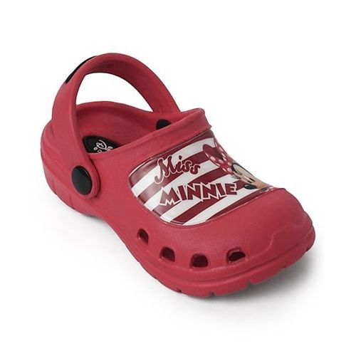 Cute Walk by Babyhug Cutewalk By Babyhug Clogs Minnie Mouse - Maroon