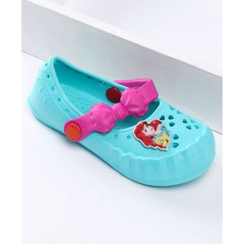 Disney Princess Barbie Clogs With Patch - Sea Green