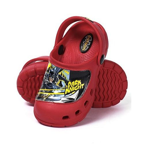 Cute Walk by Babyhug Cutewalk By Babyhug Clogs Dark Knight - Red