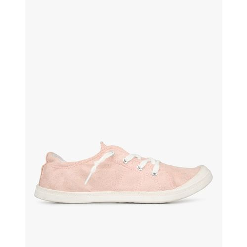 HI-ATTITUDE Shimmery Lace-Up Casual Shoes
