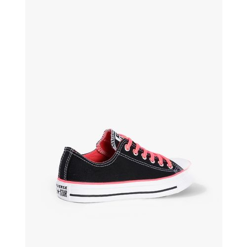 CONVERSE Low-Top Casual Shoes with Contrast Lace