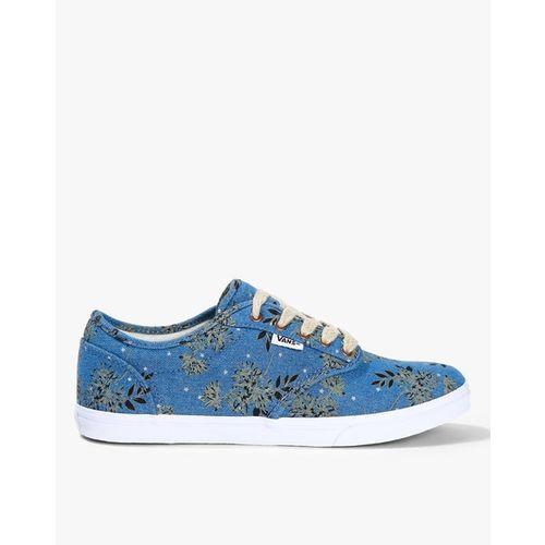 Vans Tropical Print Lace-Up Casual Shoes