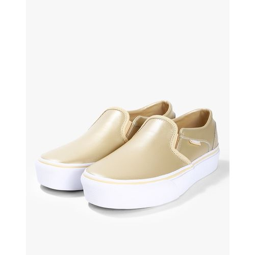 Vans Low-Top Textured Slip-On Casual Shoes