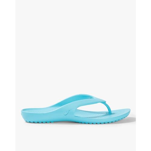 CROCS Kadee Thong-Strap Flip-Flops with Textured Footbed