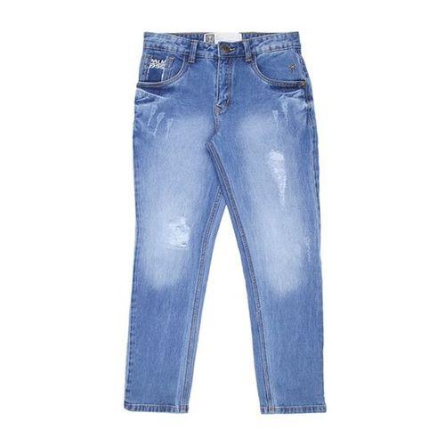 Palm Tree by Gini & Jony Kids Blue Distressed Jeans