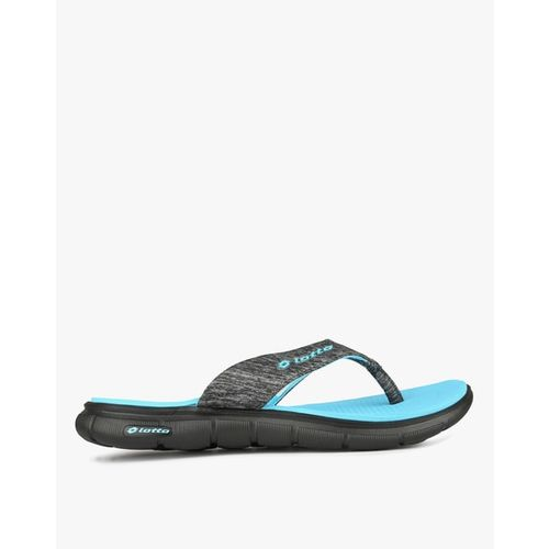 LOTTO Heathered Flip-Flops with Branding