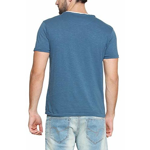 Allen Solly Men's Printed Regular fit T-Shirt