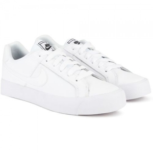 Nike WMNS COURT ROYALE AC Sneakers For Women(White)