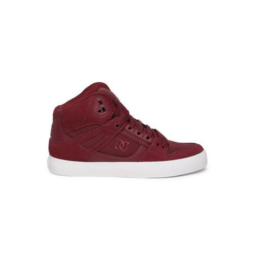 DC Men Burgundy Sneakers