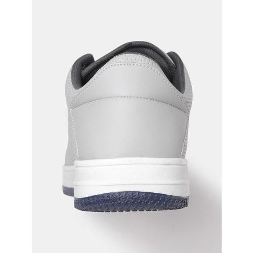Crew STREET Men Grey Textured Sneakers