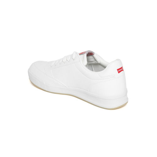 Carrera Men White Perforated Casual Sneakers