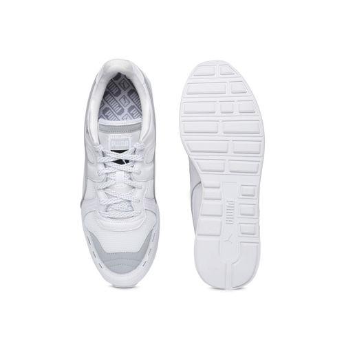 Puma Men White RS-100 OPTIC Sneakers