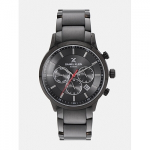 Daniel Klein Men Black Analogue Watch DK12152-5