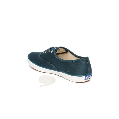 Keds Women Green Sneakers