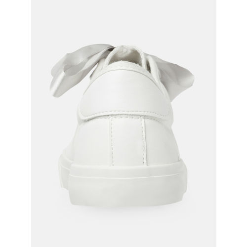 DressBerry Women White Sneakers