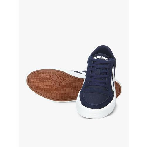 hummel Unisex Navy Blue Sneakers