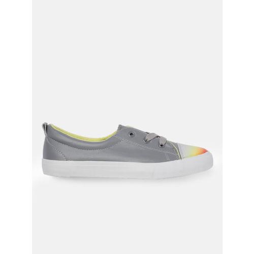 Kook N Keech Women Grey Sneakers