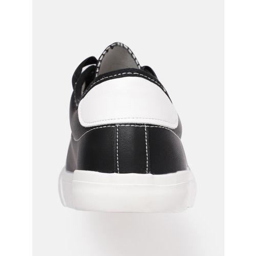 DressBerry Women Black Solid Sneakers