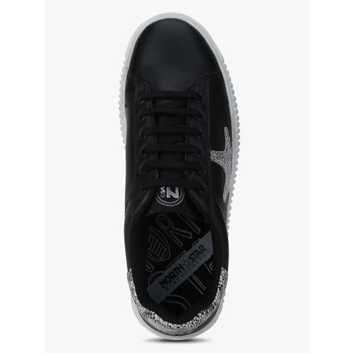North Star Maya Black Sneakers