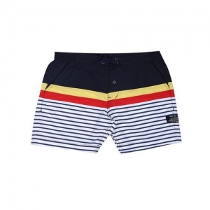 Gini & Jony Kids Dark Blue Striped Shorts