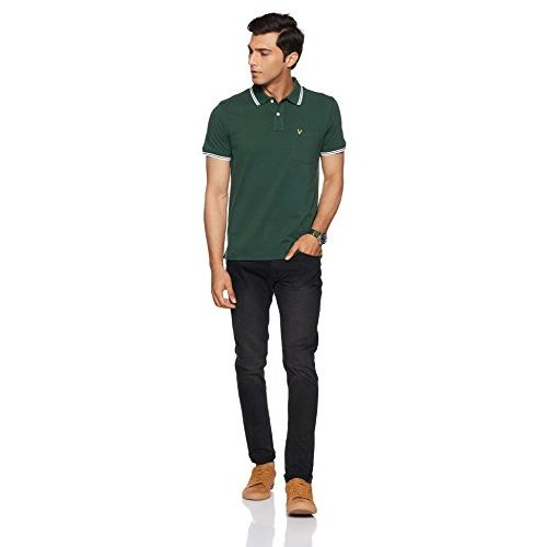 Allen Solly Men's Polo Dark Green T-shirt