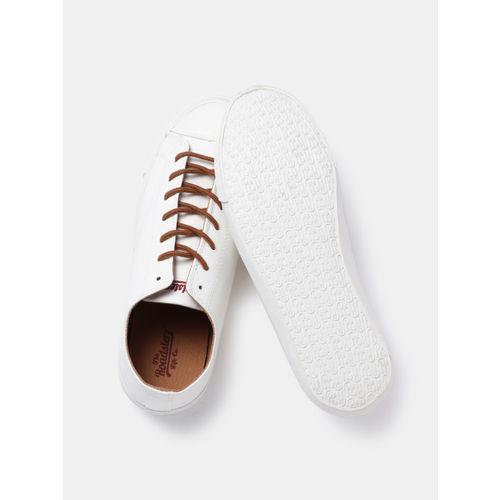 Roadster Men White Sneakers