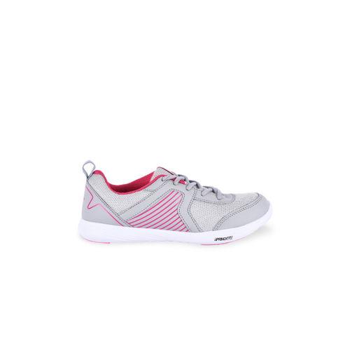 Campus Women Grey Mesh Running Shoes