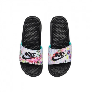 Nike Women Multicoloured BENASSI JDI Printed Sliders