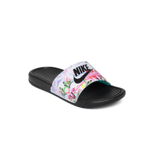 Nike Women Multicoloured BENASSI JDI Printed Sliders