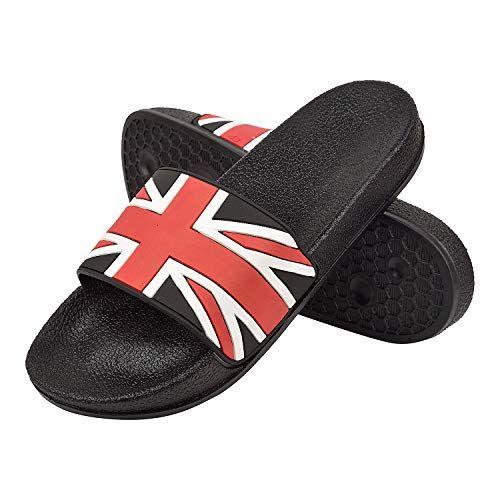 DRUNKEN Men's Slide Flip Flop Slippers