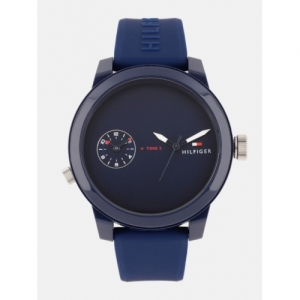 Tommy Hilfiger Navy Blue Analogue Watch TH1791325W