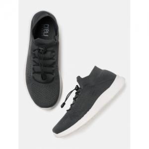 Crew STREET Women Charcoal Grey Sneakers