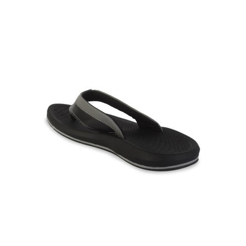 Harvard Men Black Solid Thong Flip-Flops