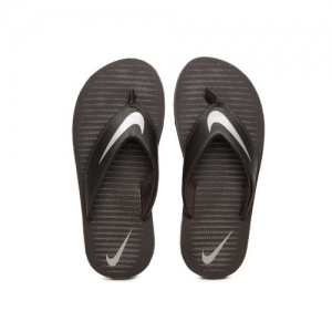 Nike Men Brown Printed Chroma Flip-Flops