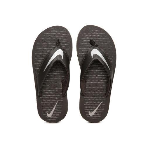 Nike Men Brown Printed Chroma Flip-Flops