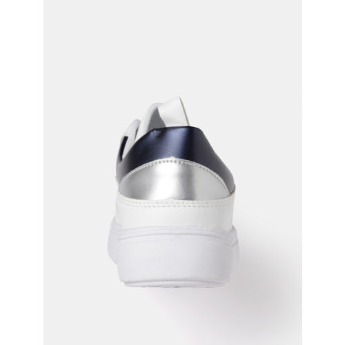 DressBerry Women White Sneakers
