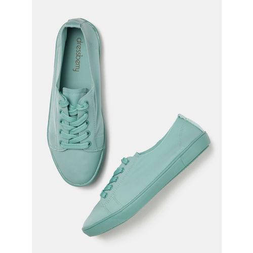 DressBerry Women Turquoise Blue Sneakers