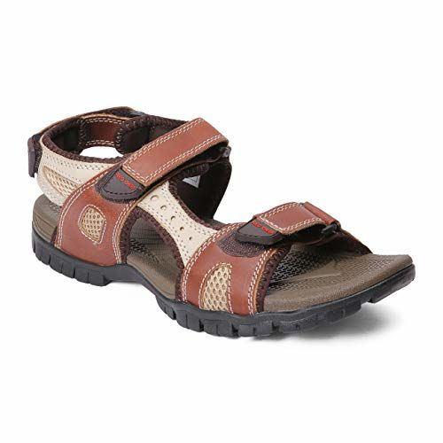 Red Chief Men's Leather Casual Sandal