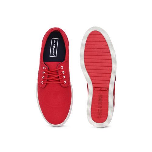 authentisch Temperament Schuhe hohe Qualität Buy Jack & Jones Men Red Solid JFW NIMBUS Sneakers online ...