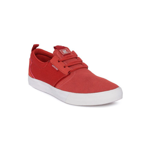 Supra Men Red Sneakers