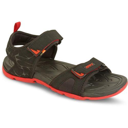 Sparx SS-490 Men Black, Red Sandals