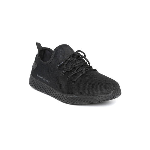 Aeropostale Men Black Sneakers