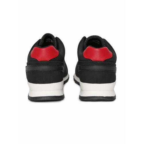 Aeropostale Men Black Suede Sneakers