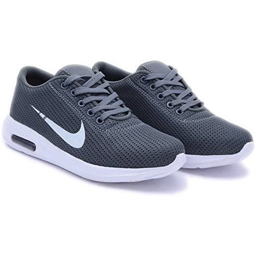 Lata D Grey Synthetic Men's Sports Shoes