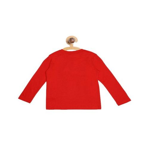United Colors of Benetton Kids Red Printed T-Shirt