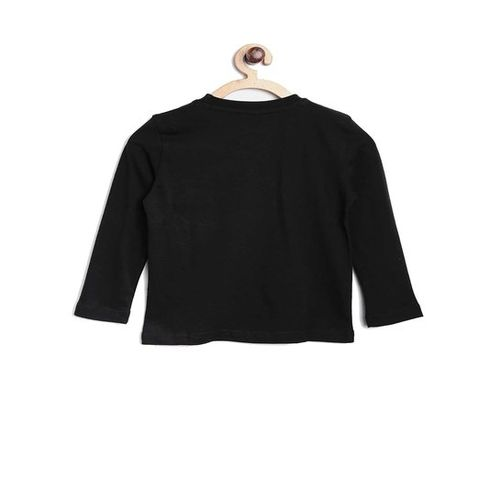 United Colors of Benetton Kids Black Printed T-Shirt