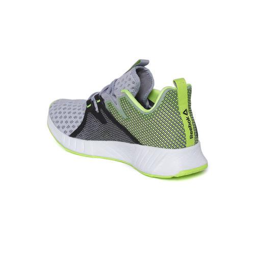 Reebok Men Grey & Green Fusium 2.0 Running Shoes