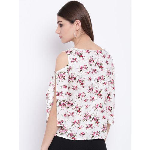 Khushal K Women White Printed Top