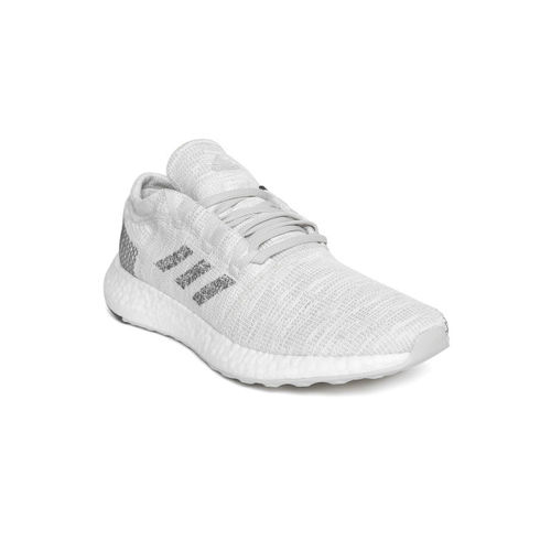 ADIDAS Men Off-White Pureboost Go Running Shoes